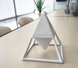 led light pyramid